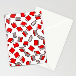 Polka Dot Books Pattern II Stationery Cards
