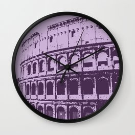 Purpura Coliseum Wall Clock