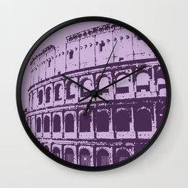 Purpura Coliseum Wall Clock