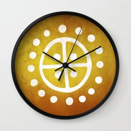 The Sun Wheel Wall Clock