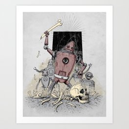 The Dusk of Man Art Print