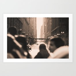 Crosswalks  Art Print