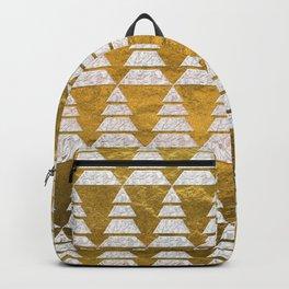 Geometric Christmas Trees 5 Backpack