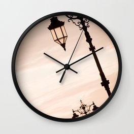 Southsea Sunset Wall Clock