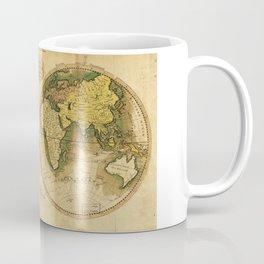 Map of the World by Mathew Carey (1795) Coffee Mug