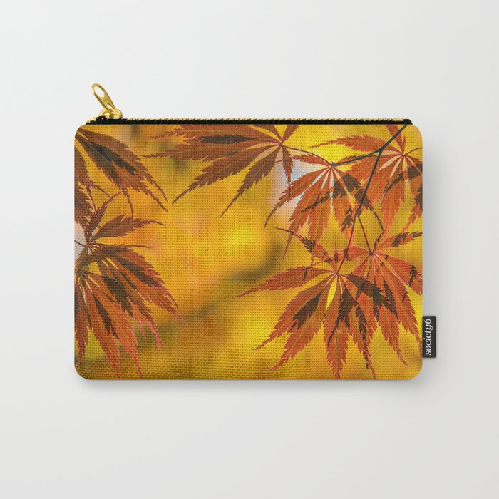 Maple in the gold fall Carry-All Pouch