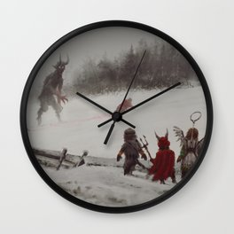 no gifts this year Wall Clock