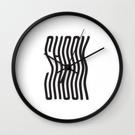 Shook Wall Clock