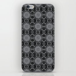 Sharkskin Floral Abstract iPhone Skin