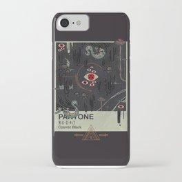 Cosmic Black iPhone Case