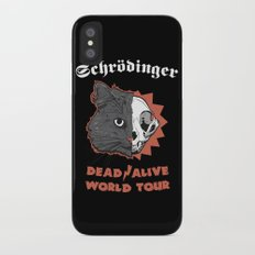 Schrödinger - DEAD/ALIVE World Tour iPhone X Slim Case
