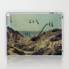 Arsuf Dune & sea reservation, Israel, scaned sx-70 Polaroid with Exposure brackets Laptop & iPad Skin