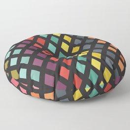 Vintage rombs Floor Pillow