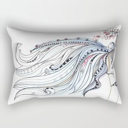 ocean blue Rectangular Pillow