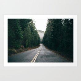 Drive X Art Print