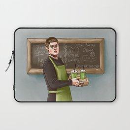 Your friendly pagan god barista Laptop Sleeve