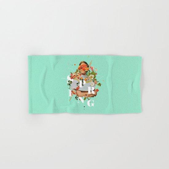 Spring Hand & Bath Towel