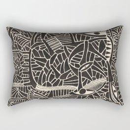- concrete high school - Rectangular Pillow