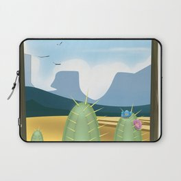 Desert and cactus Laptop Sleeve