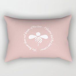 The Bee Rectangular Pillow