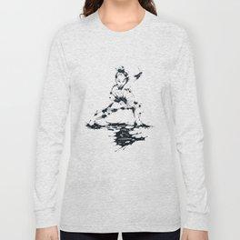 Splaaash Series - Lan Lan Ink Long Sleeve T-shirt