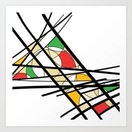 Urban Abstract II Art Print