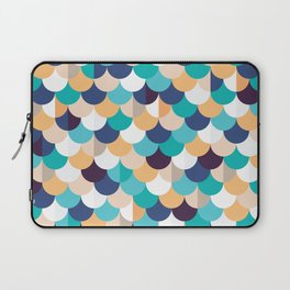 Autumn Mermaid Scales Laptop Sleeve