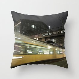 Friedrichstrasse Throw Pillow