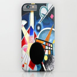 Wassily Kandinsky One Center Detail iPhone Case