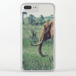 Vintage Africa 08 Clear iPhone Case
