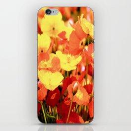 Californian Poppies iPhone Skin