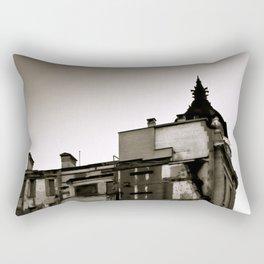 Surrealist Urban City. Rectangular Pillow