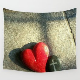 """""""Heart and Soul"""" Wall Tapestry"""