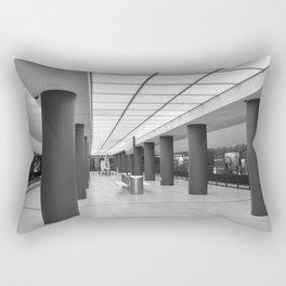Tube-Station Brandenburg Gate - Berlin Rectangular Pillow