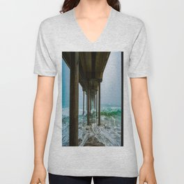 Murky Dreams - HB Pier 2016 Unisex V-Neck