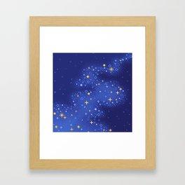 Lapis Universe Framed Art Print