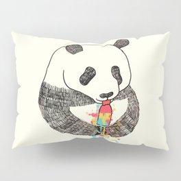 Panda Loves Ice Cream Pillow Sham