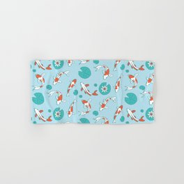 Koi Pond Hand & Bath Towel