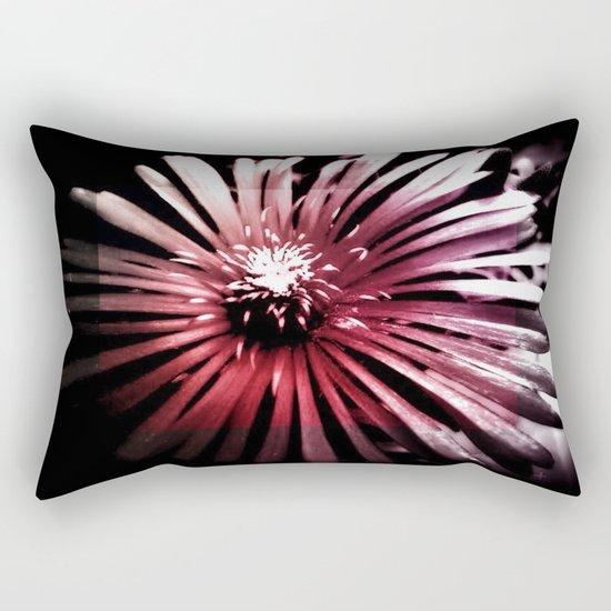 Night Flower Rectangular Pillow