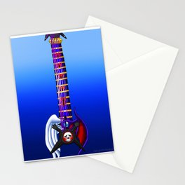 Fusion Keyblade Guitar #171 - Skull Noise & Way to the Dawn Stationery Cards