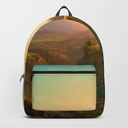 Pichincha - Frederic Edwin Church Backpack