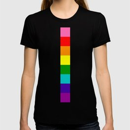 gay stripe T-shirt