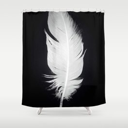 Whitefeather Shower Curtain