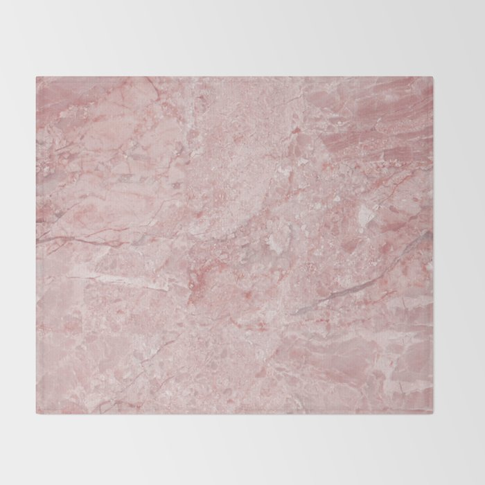 Blush Pink Marble Throw Blanket By Naturemagick Society40 Enchanting Blush Pink Throw Blanket