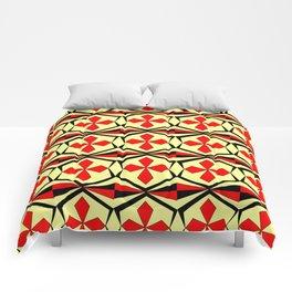 symetric patterns 59 -mandala,geometric,rosace,harmony,star,symmetry Comforters