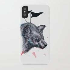Wolf?Hyena? iPhone X Slim Case