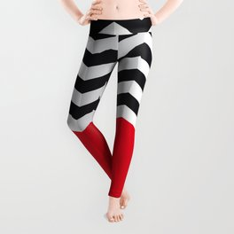 Rayure ZigZag Leggings