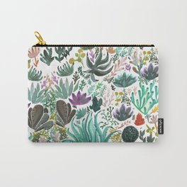 Succulent and Cacti Carry-All Pouch