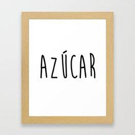 Azucar Framed Art Print