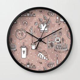 Cozy home Wall Clock